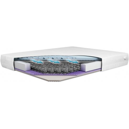 Pružinová matrace Lux XXL Comfort 140x200